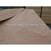5mm PLB face/back poplar core commercial plywood sheet with cheap price