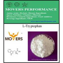 Factory Supply Amino Acids Food Grade L-Tryptophan CAS: 73-22-3.