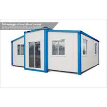Prefab Modular Folding Container House for Hotel / Economic