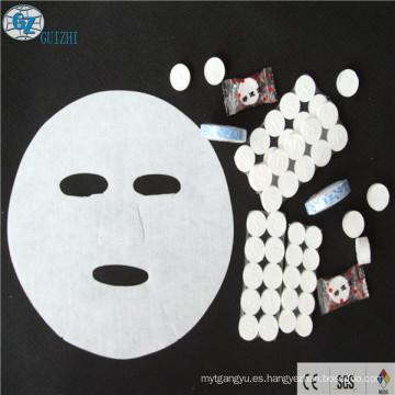 tipo de diseño desechable de mascarilla de algodón comprimido