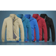 Outerdoor Wearing Man Casual Softshell Jacket
