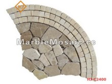 marble mosaic Tiles for paving stone -outlet