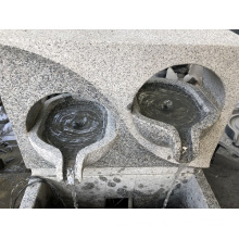 G603 light grey granite fountain
