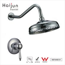 Haijun 2017 China Venta al por mayor cUpc baño solo mango grifo de la ducha conjunto