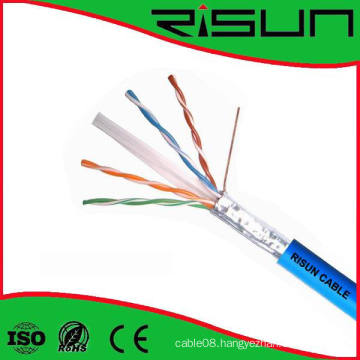 Hot Sale Shielded LAN Cable FTP CAT6 Cable Pass Fluke Test
