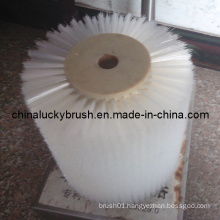 Nylon Material White Colour Polishing Roller Brush (YY-031)