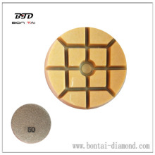 High gloss achievement diamond polishing pad