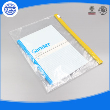 Varnish zipper compression plastic bags can be customized resealable plastic bag