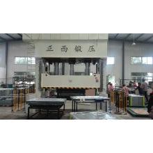 Double Precision Steel Frame Press/Closed-Door Type Door Skin Embossing Machine