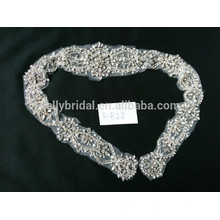 Fantastic rhinestone trimming lace garment accessories for baby girl wedding dress
