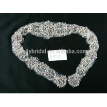 Фантастический горный хрусталь обрезки кружева одежды аксессуары для девочки свадебное платье
