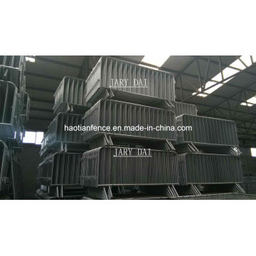 Hot Dipped Galvanized Crowd Control Barrier