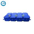 Supplier hdpe plastic floating pontoon bridge dock with buoy float