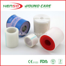 Клейкая хирургическая лента (нетканый материал, полиэтилен, хлопчатобумажная ткань или шелк)
