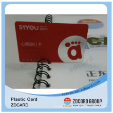 Plastic Cards Wholesale/Plastic Card with Signature Panels/Transparent Clear Cards