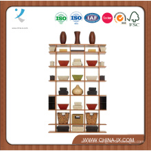 Free Standing 4′ Wide X 6′ Tall Wooden Display Stand