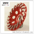 100mm turbo cup wheel, measures 100*9*5*8*23mm