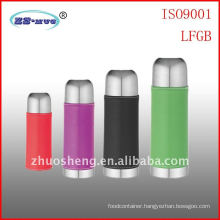 stainless steel vacuum flask with PU coat