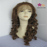 China Manufacture of Virgin Remy Hair Full Lace Wig Front Lace Wig, Jewish Wig and Toupee