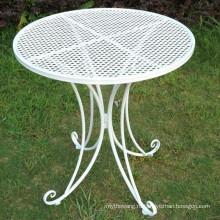 2016 Новый дизайн кованого железа стол для наружной мебели