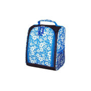 Blue Silk - Screen Printing Insulated Cooler Bags For Picnic , Wine