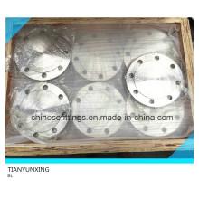 DIN2527 F304L Bl Bride aveugle en acier inoxydable