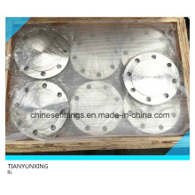 DIN2527 F304L Bl нержавеющая сталь фланцевая заглушка