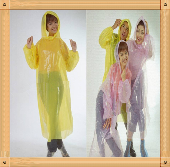 PE Bright Color RAIN SUIT