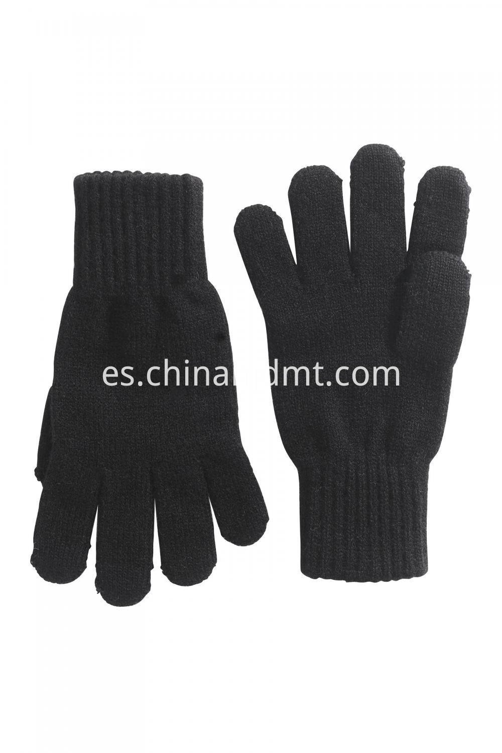 Touch Screen Gloves Black