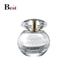 Nouveau design 60 ml forme d'ampoule personnalisée bouteille de parfum cristal unique parfum bouteille en verre chinois fournisseur