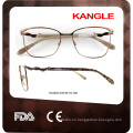 2017 new style hottest metal eyeglasses optical frame glass frame eyewear