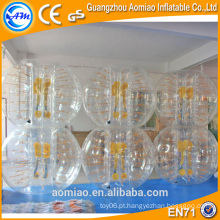 Esfera de pára-choque inflável do corpo para a esfera do adulto / do amortecedor para miúdos / esfera da bolha para a venda