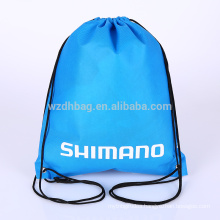Reusable Hot Sale Custom Wholesale Non Woven Drawstring Backpack Bag Shopping Tote Bag Promotion