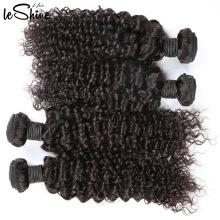 La extensión querida barata intacta famosa del pelo de la extensión del pelo / el pelo rizado de Remy teje