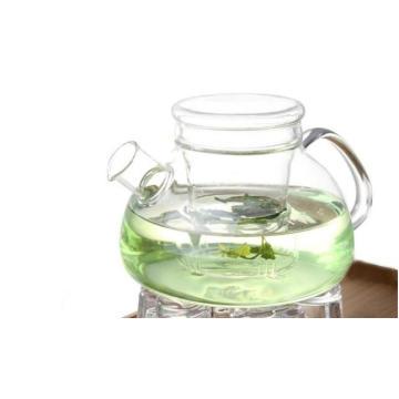 Copo de chá de vidro Customeized resistência ao calor com infusão