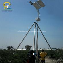 Lâmpada de rua solar impermeável nivelada do nível IP65