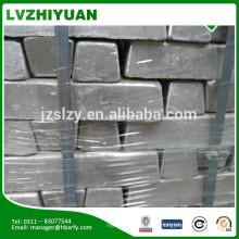 Precio del lingote de magnesio de metal de fabricación