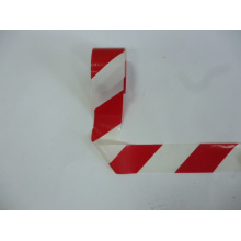Double Printing White/Red Reflective Caution Tape