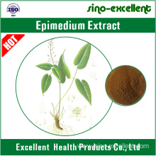 Manufacturer of for Natural High Quality Anti Cancer Horny goat weed extract Epimedium extract export to Fiji Manufacturer