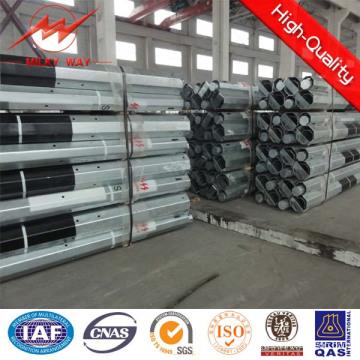 9 m und 11m 500dan Stahl-Mast mit Bitumen