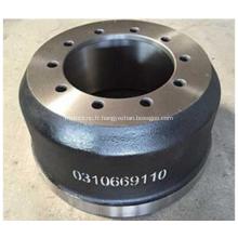 Gamme complète de tambour de frein