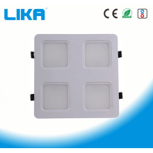24W de cuatro cabezas de la rejilla del panel de luz LED