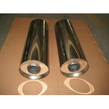 Round Straight Exhaust Silencer