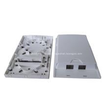 Caja de distribución de fibra óptica interior de 2 puertos