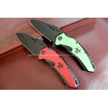 Cuchillo de aluminio de la manija que acampa (SE-0526)