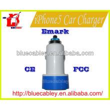 Cargador de coche usb para iPhon4 / 4s / 5