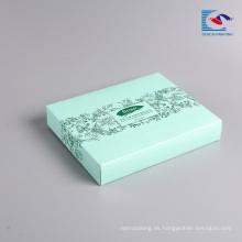 Caja de papel cosmética de la máscara de empaquetado al por mayor libre de la muestra con la impresión LOGOTIPO