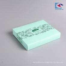 Amostra grátis máscara de embalagem por atacado rosto caixa de papel cosmético com impressão LOGOTIPO