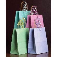 Paper bag with bright color