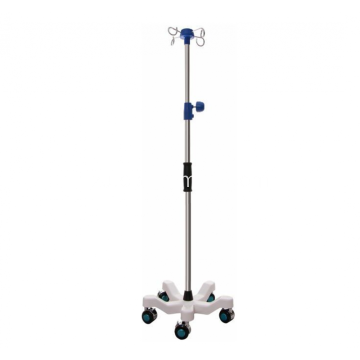 I-Adjustable Medical Hospital IV IV Drip Stand